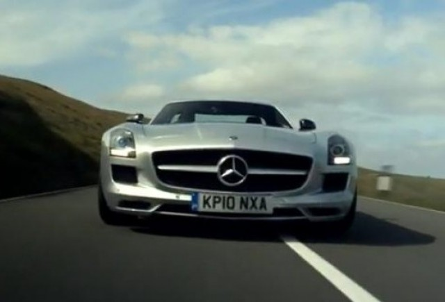 VIDEO: Mercedes SLS AMG in varianta 3D