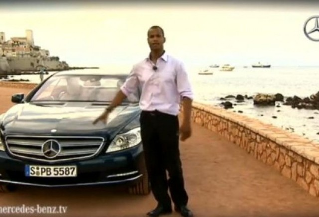 VIDEO: Noul Mercedes CL 600 pe Coasta de Azur