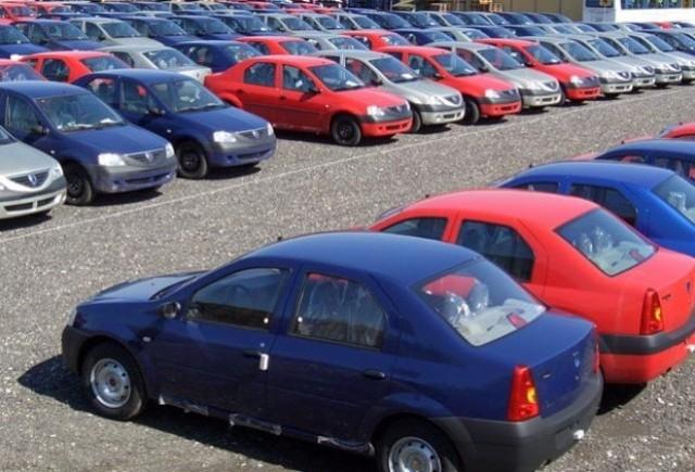 Inmatricularile auto continua sa scada in Romania