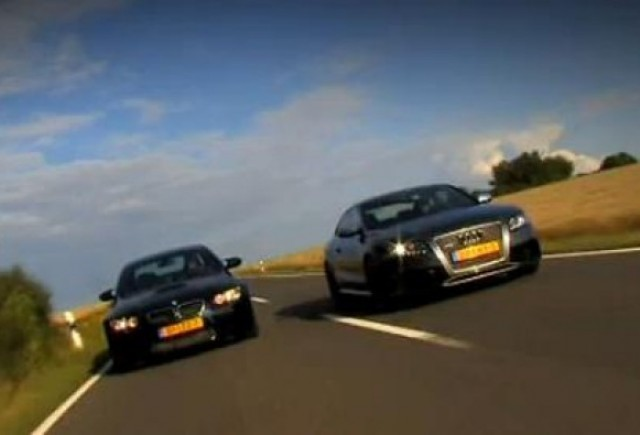 VIDEO: Confruntarea titanilor: Audi RS5 vs BMW M3