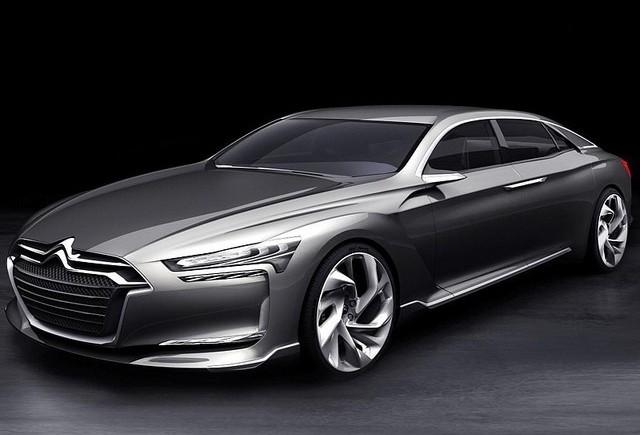 Automobil de lux hibrid  de la Citroen