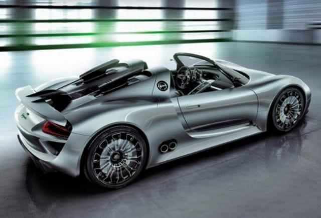 S-a finalizat super-hibridul decapotabil Porsche