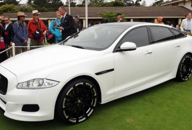 Jaguar prezinta conceptul XJ75 Platinum