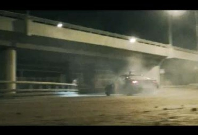 VIDEO: Drift-urile sunt la moda pe strazile Moscovei