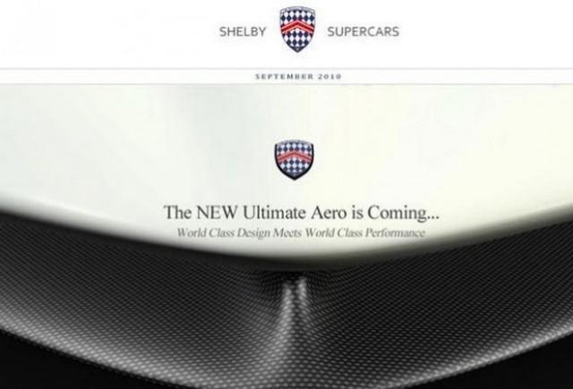 Primul teaser cu noul SSC Ultimate Aero