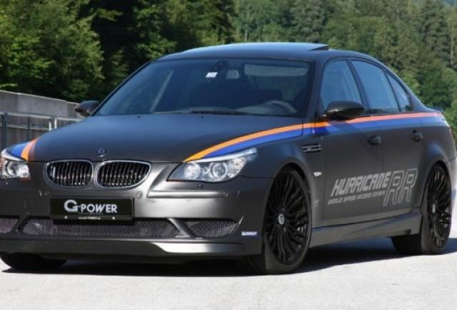 BMW M5 RR Hurricane, cel mai rapid sedan din lume