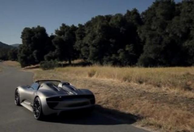 VIDEO: Porsche 918 Spyder se prezinta