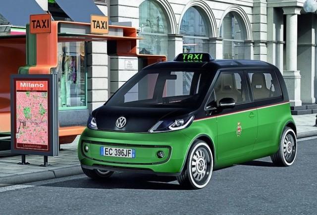 Volkswagen taxi cu propulsie electrica