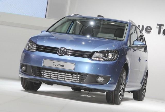 Volkswagen Touran, din nou actualizat