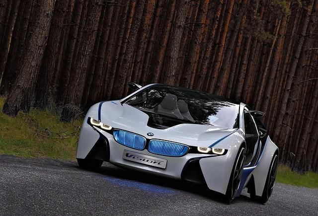 BMW dezvolta un hibrid cu celula de combustie