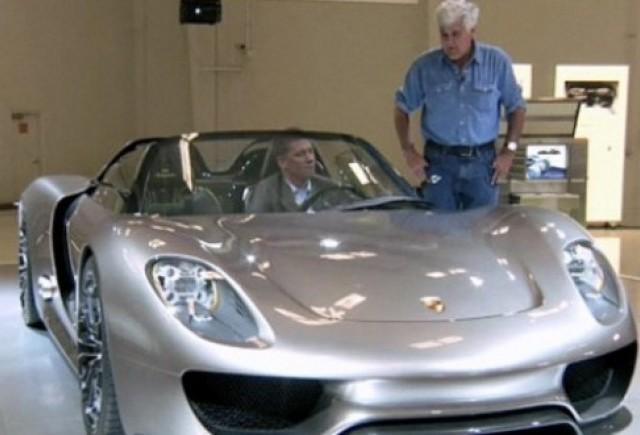 VIDEO: Jay Leno si noul Porsche 918 Spyder