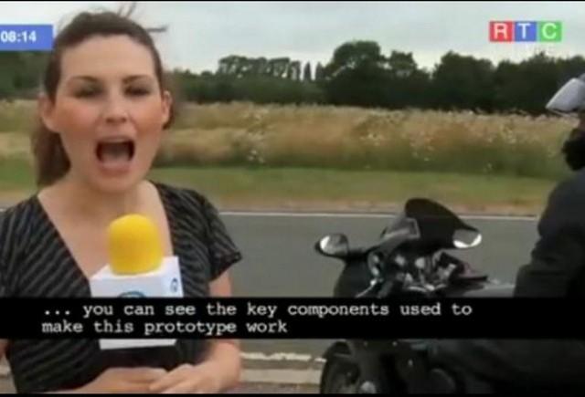 VIDEO: Motociclistii vor fi expusi la mai putine accidente!