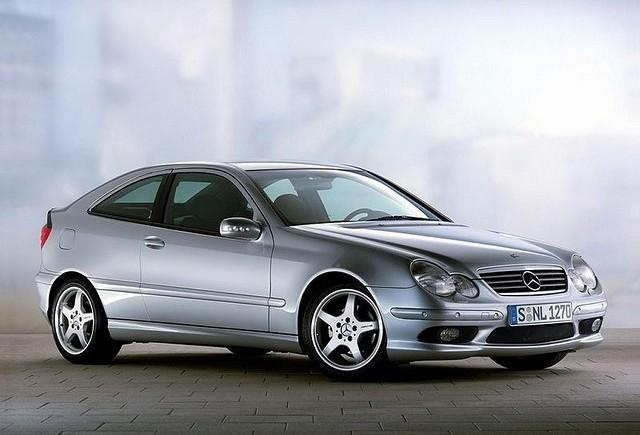Mercedes clasa C coupe, oficial