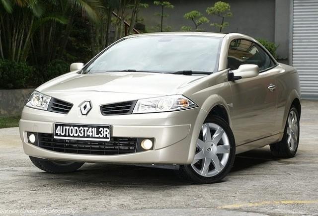 Noul Renault Megane CC in imagini oficiale