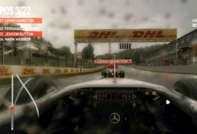 VIDEO: Jocul F1 2010 reda perfect realitatea