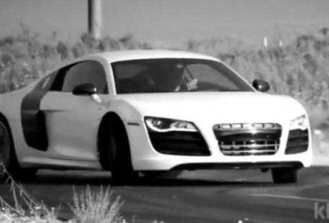VIDEO: Audi R8 V10, pe mana unui tester adevarat