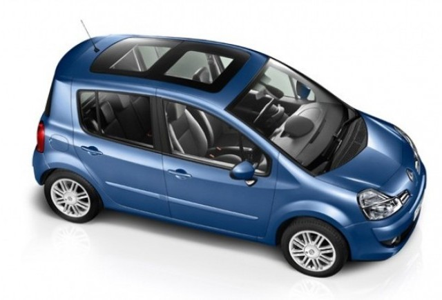 Prima imagine cu noul Renault Modus
