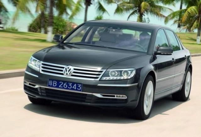 Noul VW Phaeton va fi comercializat si in America