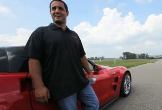 VIDEO: Juan Pablo Montoya testeaza Corvette ZR1