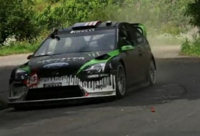 VIDEO: Ken Block testeaza Ford Focus WRC