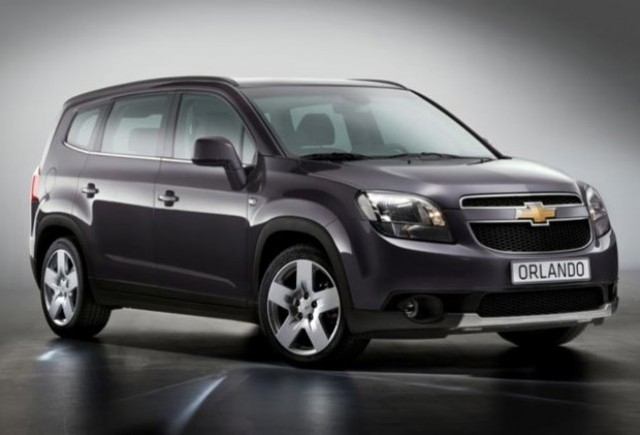 Noul Chevrolet Orlando vine la Paris!