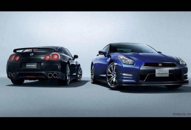 Primele imagini cu Nissan GT-R facelift