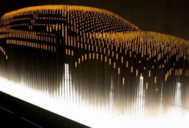 VIDEO: O sculptura Lexus prefigureaza modelul CT 200h