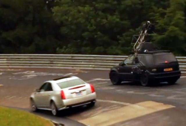 VIDEO: Filmarile spotului la Cadillac CTS-V