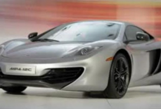 VIDEO: Lansarea lui McLaren MP4-12C in SUA
