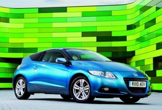 Honda CR-Z, 5 stele la testul Euro NCAP