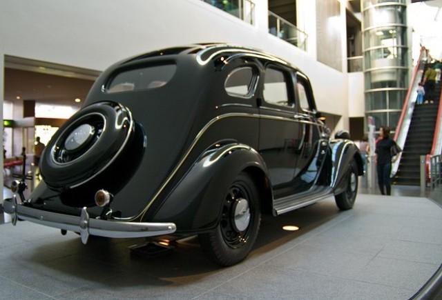 Prima masina Toyota - modelul AA