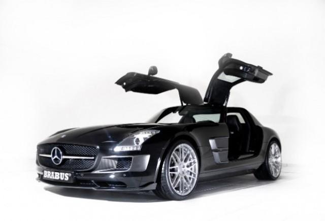 Noul Mercedes SLS AMG tunat de Brabus