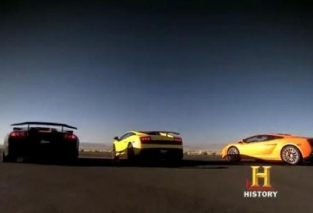 VIDEO: Top Gear SUA se joaca cu taurii Lamborghini