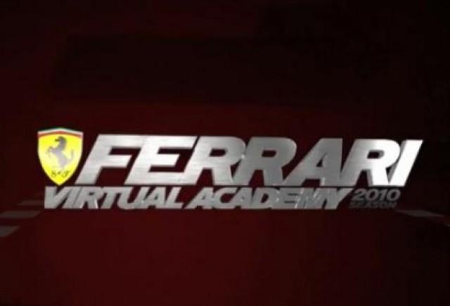 VIDEO: Ferrari lanseaza Academia Virtuala de pilotaj