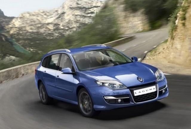 Iata primele imagini cu noul Renault Laguna facelift!