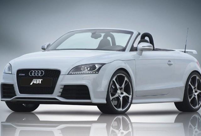Audi TT RS tunat de ABT