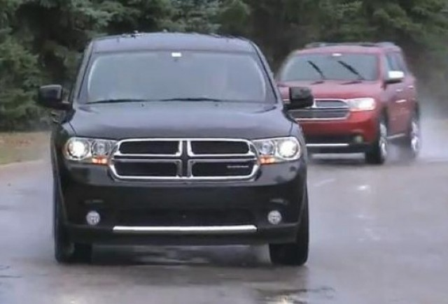 VIDEO: Noul Dodge Durango in actiune