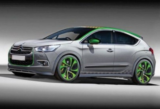 Citroen pregateste un model DS4 Racing