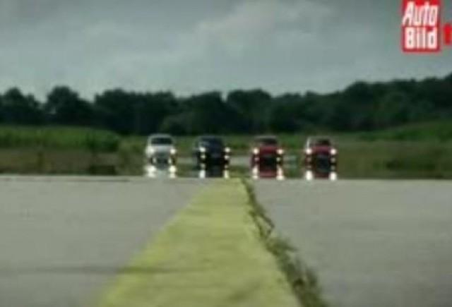 VIDEO: Comparativ intre hatchback-urile de clasa mica
