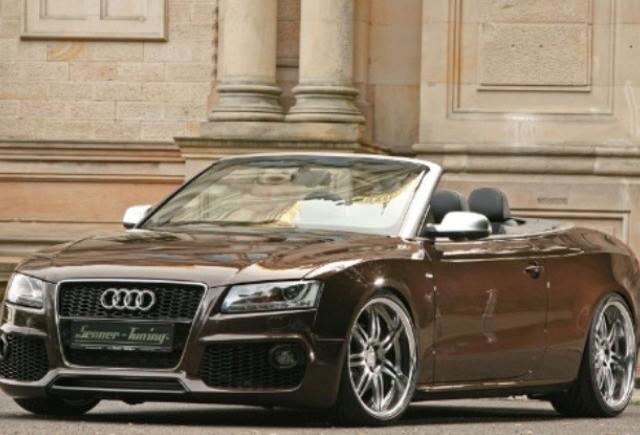 Audi A5 cabrio tunat de Senner