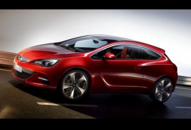 Iata noul concept Opel Astra GTC!