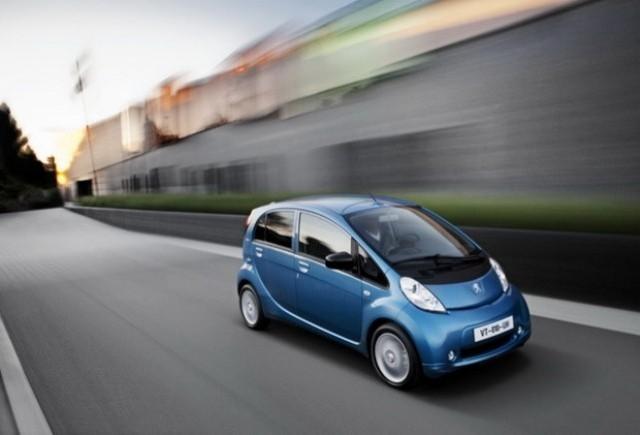 Peugeot iOn pentru 499 Euro/luna