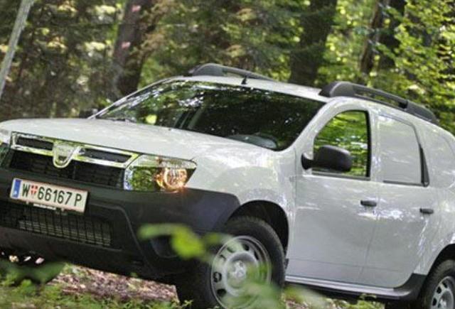 Versiunea van a lui Dacia Duster