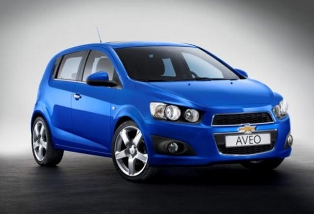Noul Chevrolet Aveo, premiera mondiala la Paris!