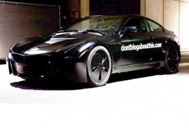 Teaser BMW pentru conceptul Seria 6