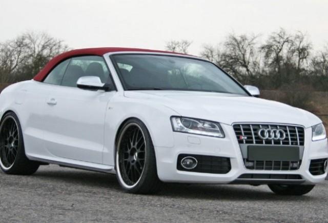 Audi S5 cabrio tunat de HS Motorsport