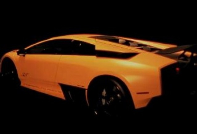 VIDEO: Lamborghini tunat pentru Paris Motor Show
