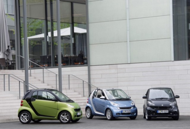 Smart Fortwo facelift, premiera la Paris!