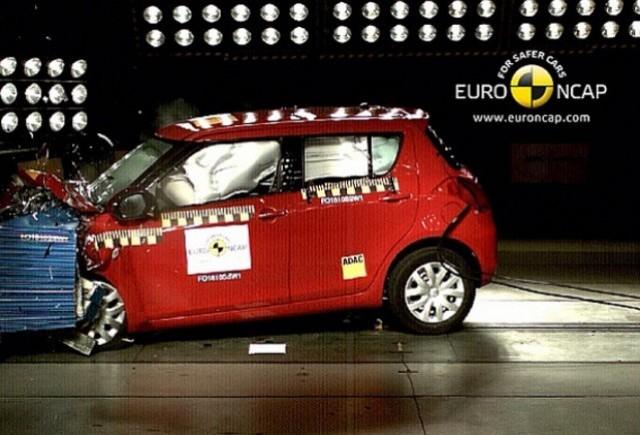 Suzuki Swift a obtinut 5 stele la Euro NCAP