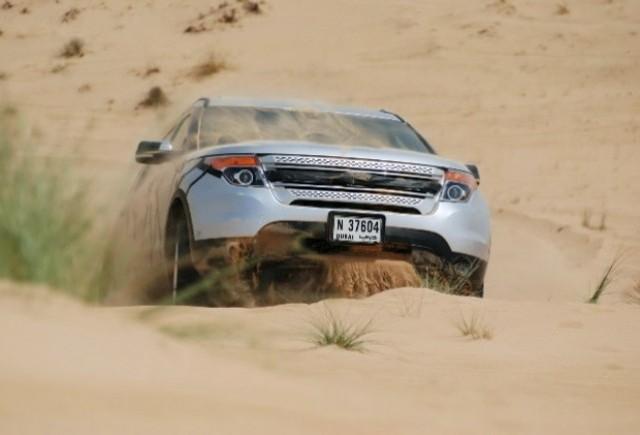 VIDEO: Noul Ford Explorer prin nisipurile din Dubai